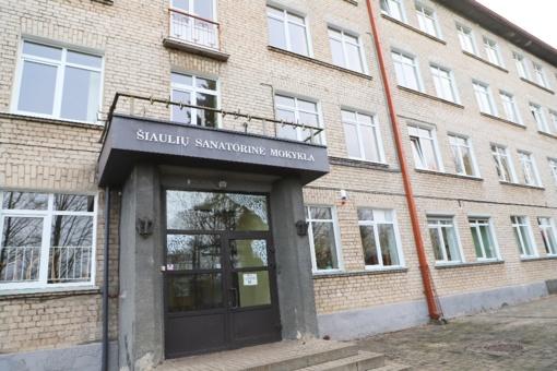 Šiauliuose veikianti vienintelė Lietuvoje sanatorinė mokykla derina ugdymą su profesionalia slauga