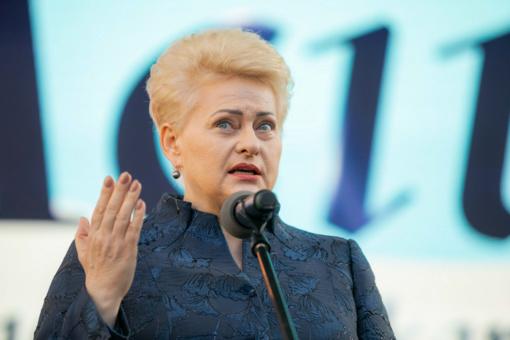 D. Grybauskaitė ragina A. Lukašenką trauktis