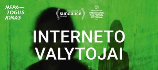 """Filmo """"Interneto valytojai"""" peržiūra"""