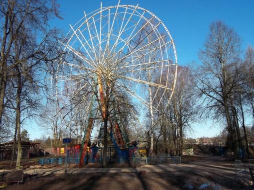 Centriniame parke prasidėjo atsinaujinimo darbai