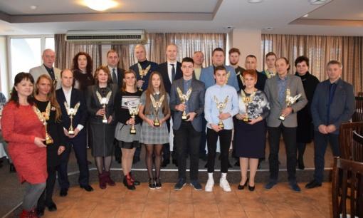Nominacijomis apdovanoti geriausi 2019 metų Vilkaviškio rajono sportininkai