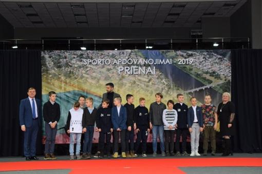 Pagerbti geriausi 2019 m. Prienų krašto sportininkai