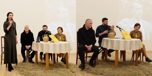 Jono ir Adolfo Mekų laiškų knygos sutiktuvės Biržuose