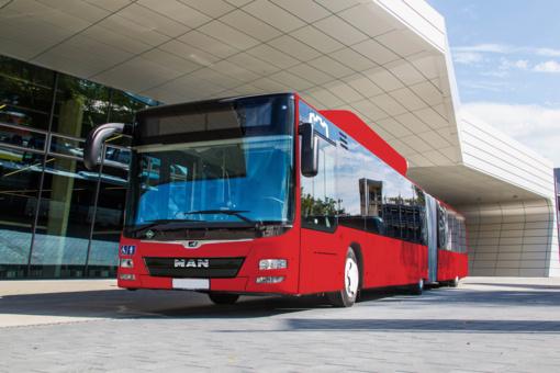 Pavasarį į sostinės gatves išriedės dar 50 naujų autobusų