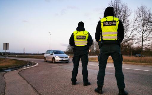 """Kauno pareigūnai įvardija vietas, kuriose vairuotojai dažniausiai sutiks """"trikojus"""""""