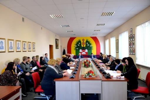 Šilalėje įvyko posėdis dėl biudžeto formavimo