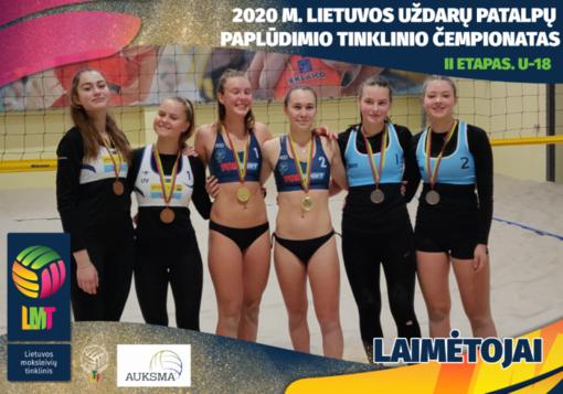 Lauros bei Ugnės duetas pasidabino sidabro medaliais