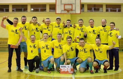 """Futsal B lygos čempionė – Kuršėnų """"Venta"""""""