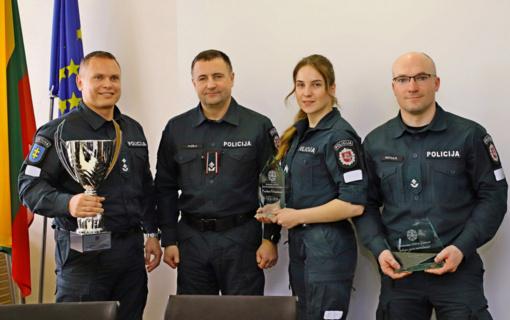 Klaipėdos policininkai – antri bendrojoje Lietuvos policijos sporto varžybų įskaitoje