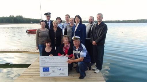 Drūkšių ežero pakrantėje kuriama rekreacinės žvejybos ir poilsio viešoji erdvė