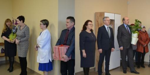 Girdžių medicinos punktas pristatytas Jurbarko bendruomenei