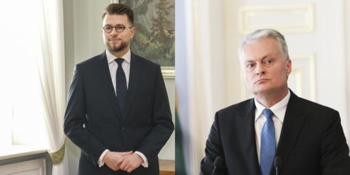 Savickas nepraėjo prezidento filtrų: atsisakė skirti į ministrus