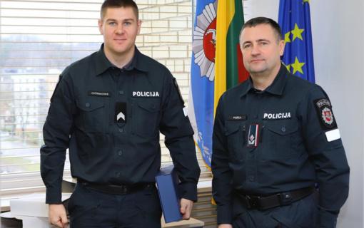 Sportiškiausias Utenos policijos pareigūnas – Aleksandras Ovčinikovas (vaizdo įrašas)