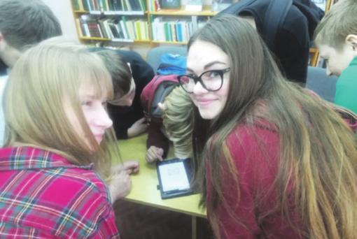 Metų knygos paaugliams rinkimai Palomenės bibliotekoje