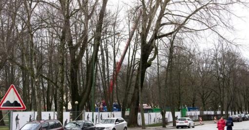 Skvero rekonstrukcija miestiečiams kelia įtarimų