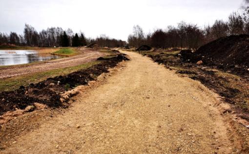 Eibariškių parko tvarkymo darbai: būkime kantresni