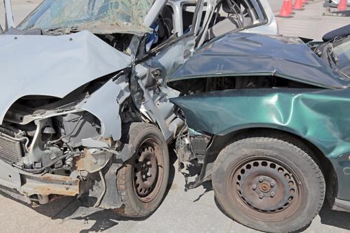 Ukrainiečio automobilis atsidūrė laužyne