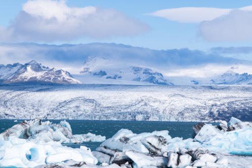Grėsmingos žinios iš Antarktidos: subyrėjus ledynams jūros lygis kiltų 7,5 metrais