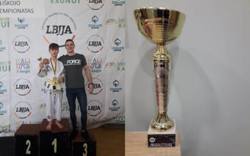Jonavietis braziliškojo Jiu-Jitsu čempionate pelnė auksą