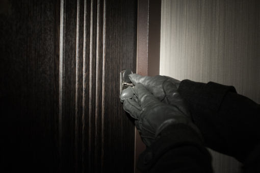 Kaune apvogtas butas