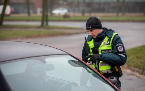 Šventinį savaitgalį Klaipėdoje – 8 neblaivūs vairuotojai