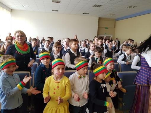 """Integruota etnokultūros diena """"Ryto"""" pagrindinėje mokykloje"""