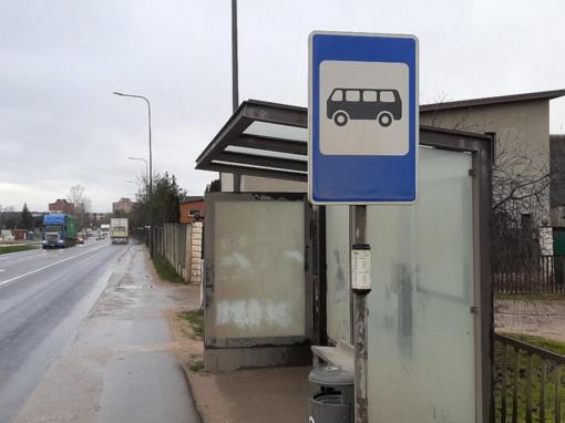 Kauniečiai suglumę: ar viešojo transporto stotelės turėtų taip atrodyti?