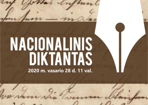 Kviečia dalyvauti Nacionalinio diktanto konkurse