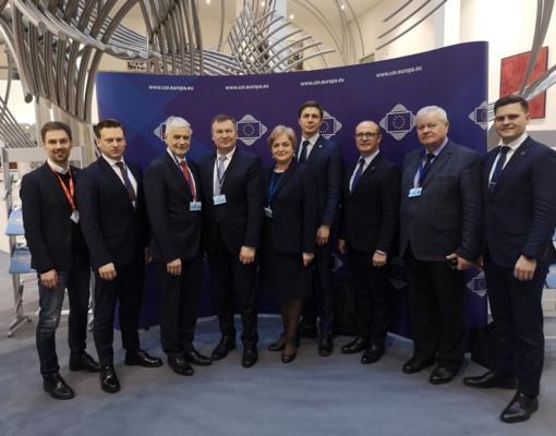 R.Malinauskas išrinktas į Europos Sąjungos Regionų komitetą