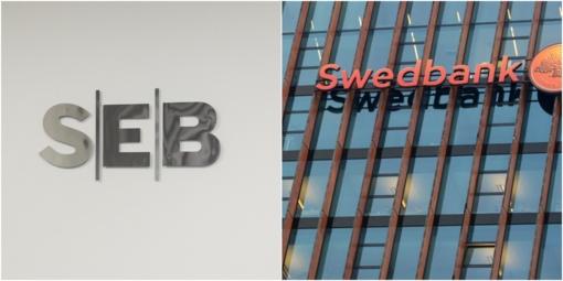 """""""Mediaskopas"""": komunikuoti vengęs """"Swedbank"""" dėl pinigų plovimo nukentėjo labiau nei SEB"""