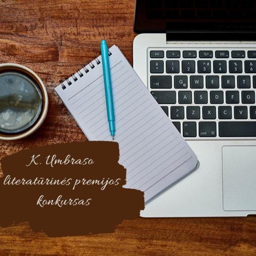 Kviečia dalyvauti K. Umbraso literatūrinės premijos konkurse