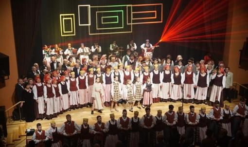 Tauragėje šventiškai paminėta Vasario 16-oji – Lietuvos valstybės atkūrimo diena