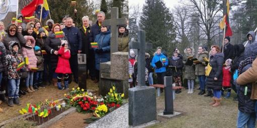 Lietuvos valstybės atkūrimo dienos šventėje pagerbtas laisvės gynėjų atminimas