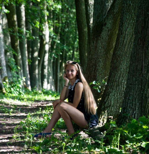 Lyg iš pasakos: Gita Šidlauskaitė - studentė, atradusi kelią į sėkmę