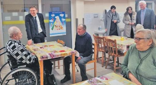 Ministro Lino Kukuraičio vizitas Rietave