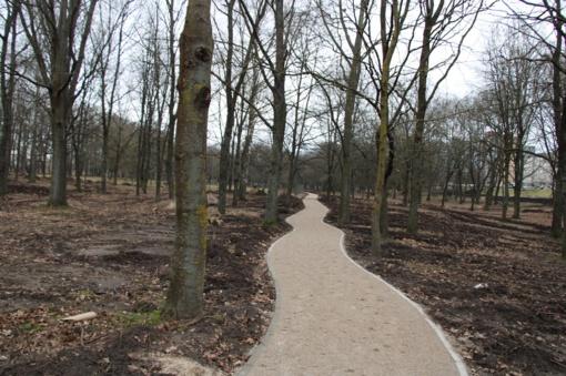 Geri orai leidžia Pašešupio parko rekonstrukciją vykdyti ir žiemą