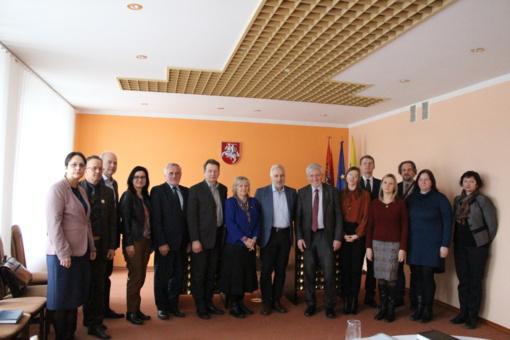 Pasvalyje lankėsi Švietimo, mokslo ir sporto ministerijos atstovai