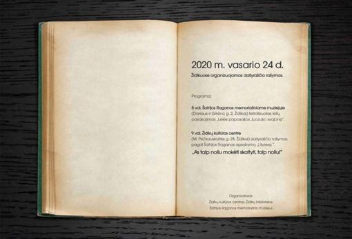 Židikuose – dailyraščio rašymas