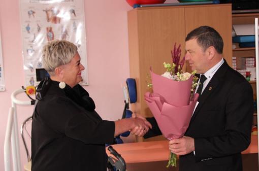 Dotnuvos slaugos namuose darbą pradėjo naujoji direktorė Irena Staliorienė