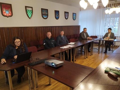 Savivaldybėje vykusiame Ekstremalių situacijų komisijos posėdyje – aktualijos ir koronavirusas
