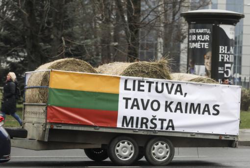 Briuselyje protestuos 170 ūkininkų iš Lietuvos