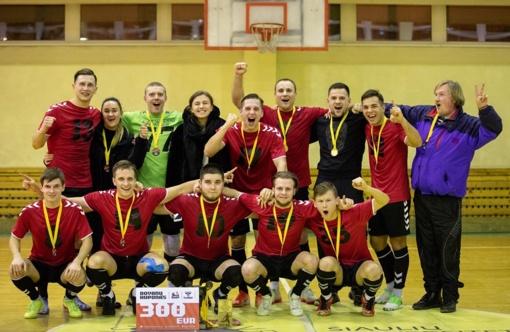 Šiaulių apskrities futsal lygos čempionais tapo radviliškiečiai