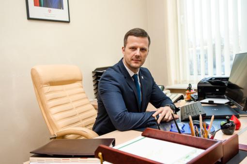 Nušalintą Panevėžio merą R. Račkauską pavaduos D. Labanavičius