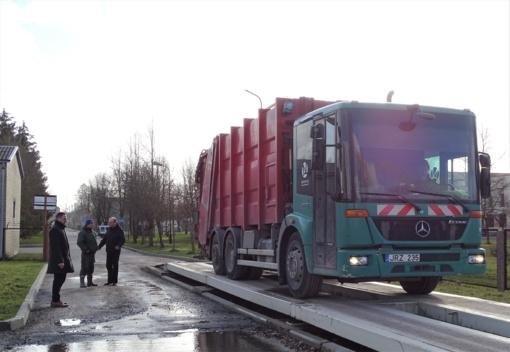 Vykdyta mišrių komunalinių atliekų tvarkymo paslaugos kokybės stebėsena