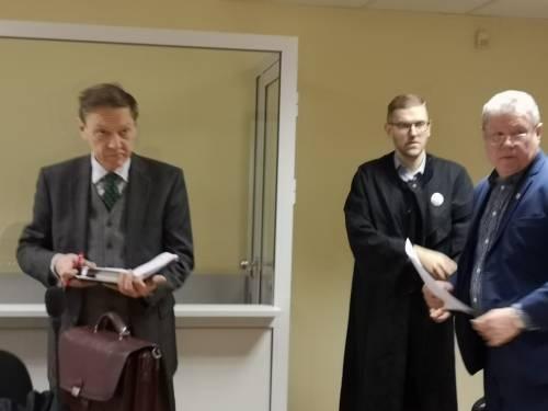 Teisme pateiktas įrašas, kuriame Kęstutis Tubis mokė bendražygius atsargumo