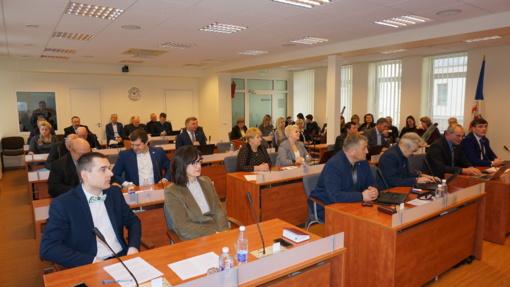 Posėdžiavo rajono savivaldybės taryba