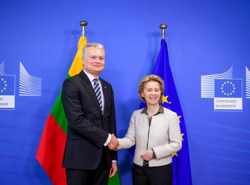 G. Nausėda: derybose dėl ES biudžeto Lietuva turi sąjungininkų