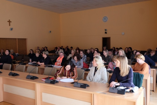 Savivaldybėje vyko švietimo įstaigų vadovų pasitarimas