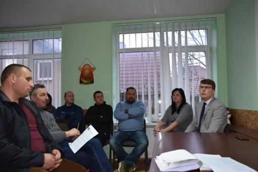 Mero pavaduotojas susitiko su bendruomenių lyderiais
