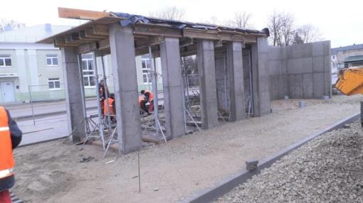 Atnaujinami Salantai turės šiuolaikinį autobusų paviljoną